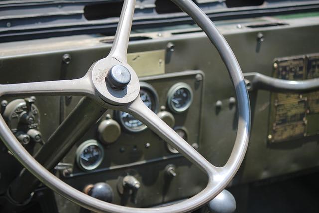Jeep, Steering Wheel, Military, Steering, Wheel