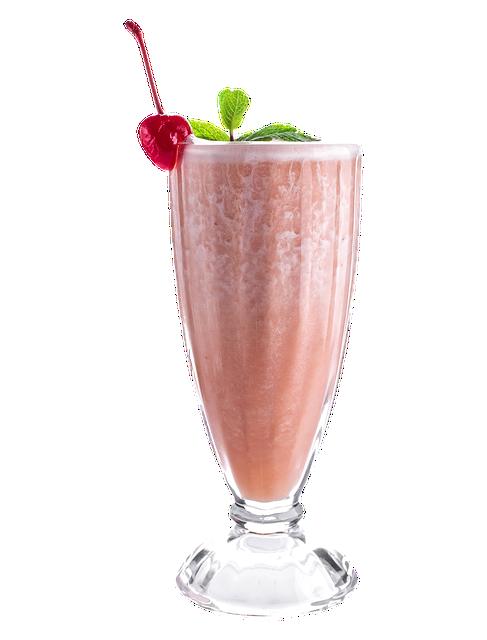 Milkshake, Drink, Glass, Strawberry, Cocktail, Smoothie