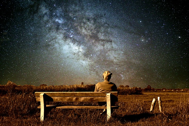 Old Man, Landscape, Milky Way, Nature, Sky, Outdoor