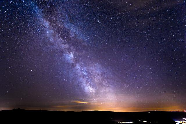 Starry Sky, Milky Way, Galaxy, Long Exposure, Star