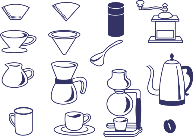 Cafe, Coffee, Icon, Dripper, Mill, Coffee Siphon