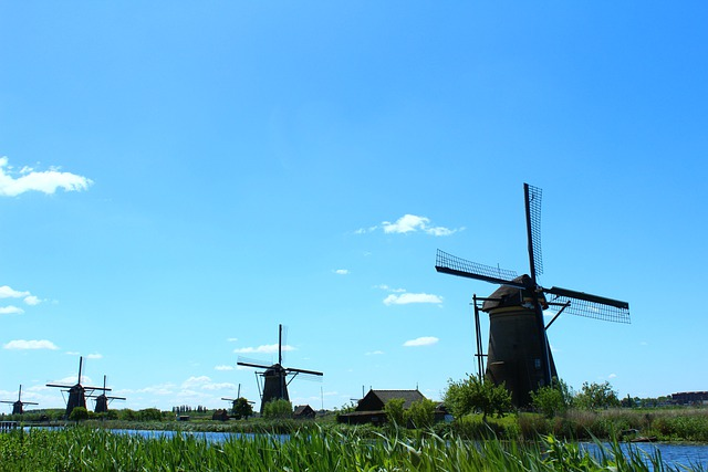 Kinderdijk, Mill, Mills