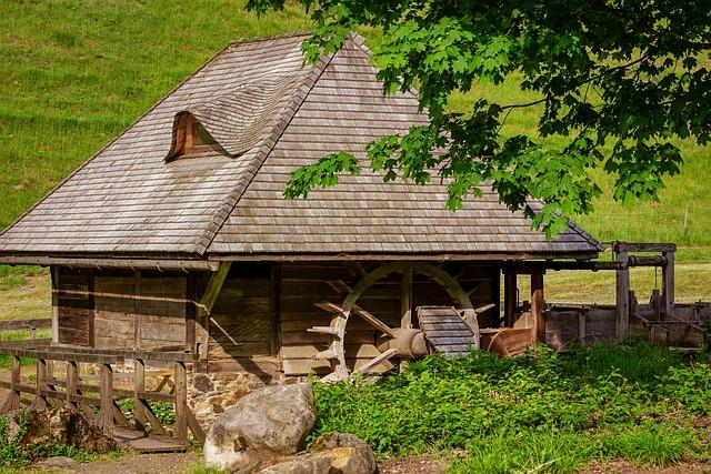 Mill, Water Mill, Old Mill, Romantic, Mill Wheel