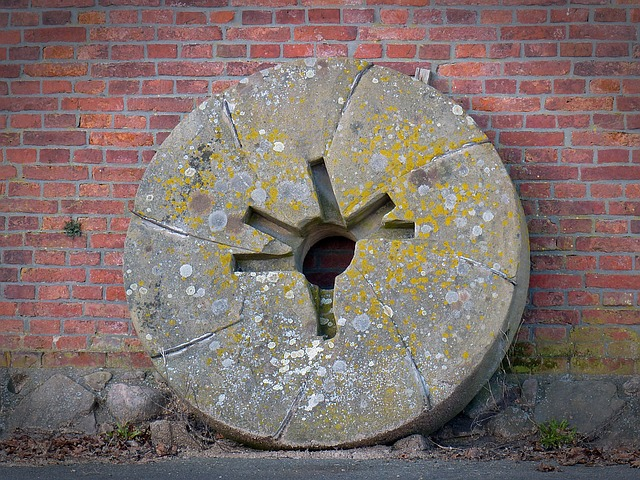 Millstone, Windmill, Mill, Nutrition, Cereals, Flour