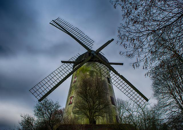 Mill, Wind, Windmill, Grind, Wing, Old, Lost Places