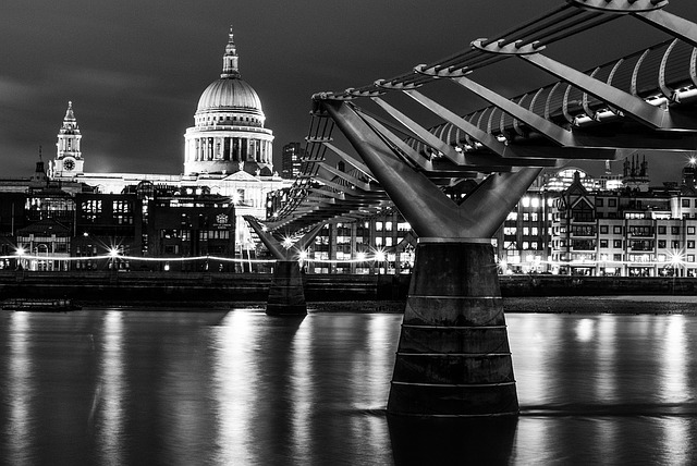 St Paul's Cathedral, London, Millennium Bridge, Church