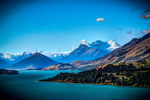 Million Dollar View, Queenstown, New Zealand, Mountains