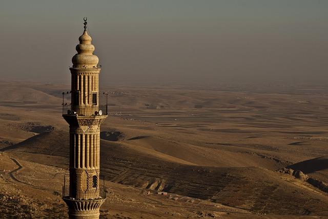 Cami, Minaret, Turkey, The Minarets, Mardin