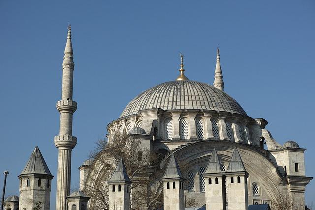 Cami, Minaret, Dome, Old, Sultanahmet, Worship, Islam