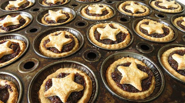 Mince Pies, Christmas, Baking, Baked, Mince, Homemade