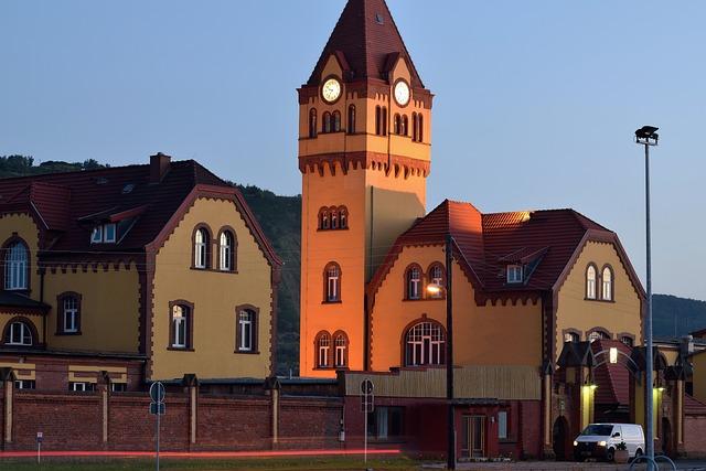 Blue Hour, Colliery House, Historic Building, Mine