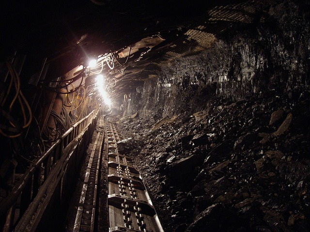 Coal, Black, Mineral, Underground, Mine, Miners