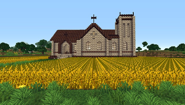 Minecraft, Church, Game