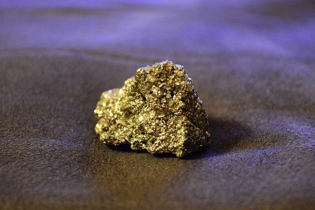 Fool's Gold, Iron Pyrite, Mineral, Glisters, Hard
