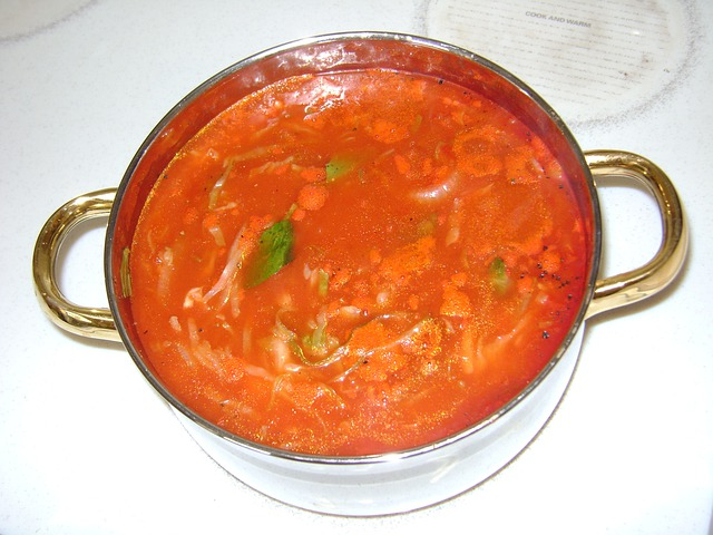Soup, Vegetable Soup, Lunch, Dinner, Hot, Minestrone