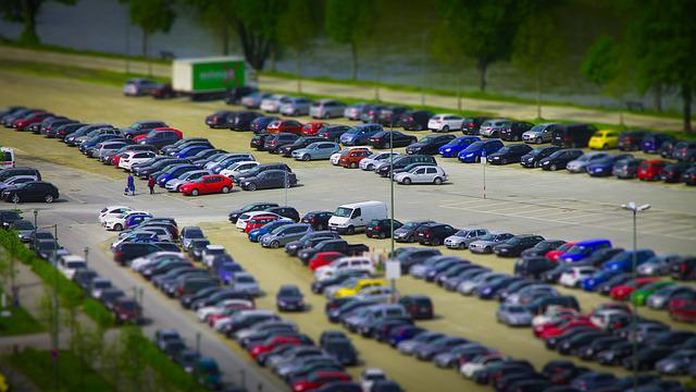 Miniature, Parking, Vehicles, Autos