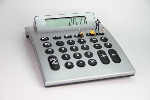 Calculator, Number, Miniature Figures, Mathematics, Sum