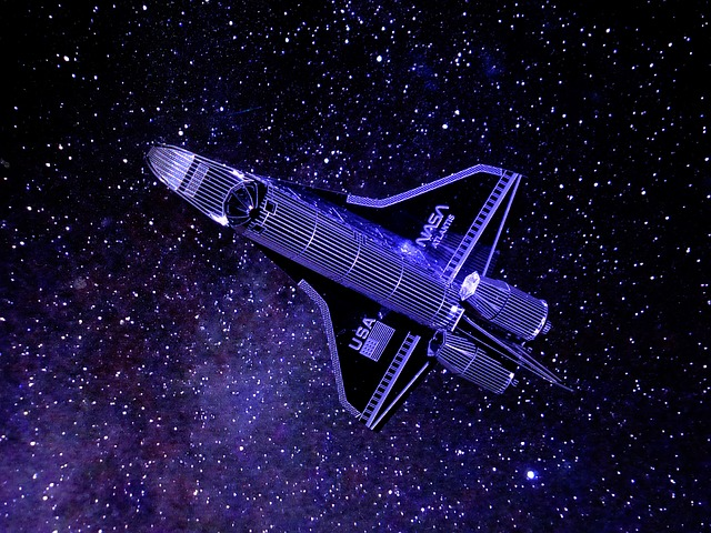 Toy, Model, The Space Shuttle, Miniatures, Nasa, Space