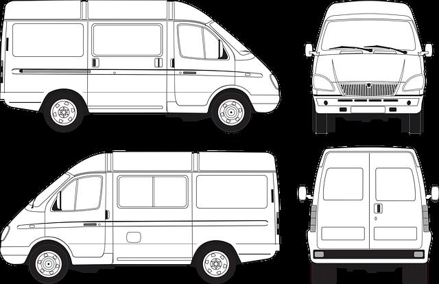 Gazelle Passenger, Bus, Minibus, Passenger, Vector