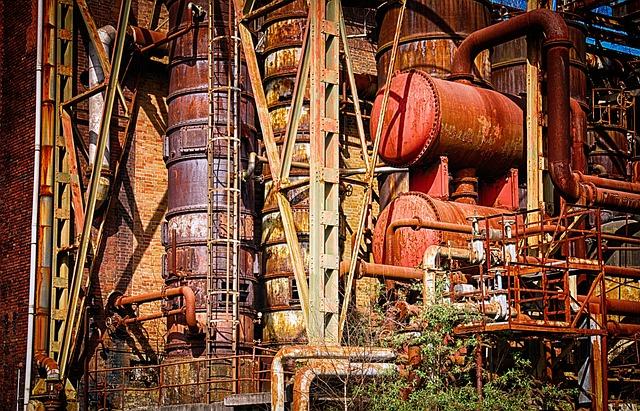 Factory, Industry, Mining, Bill, Industrial Plant