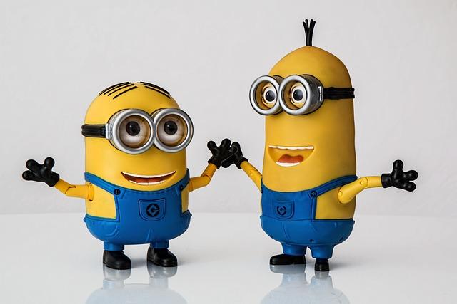 Dancing Dave Minion, Minion Tim, Despicable Me, Minions