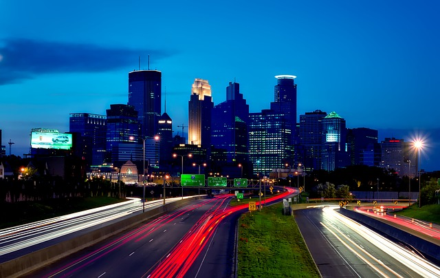 Minneapolis, Minnesota, City, Urban, Buildings