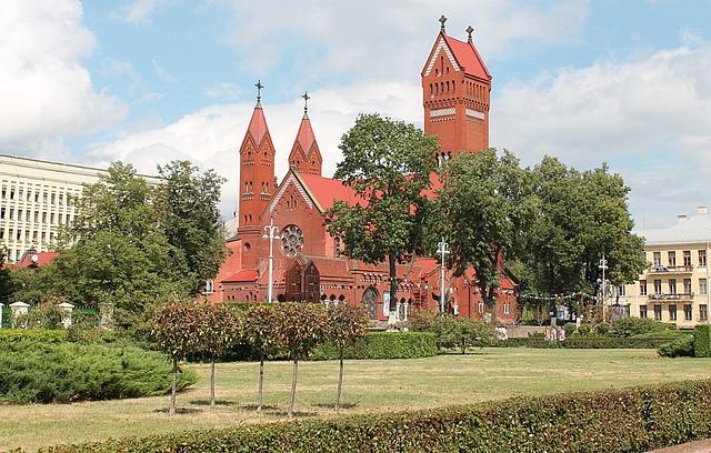 Minsk, Church, Beautiful Streets, Beautiful View