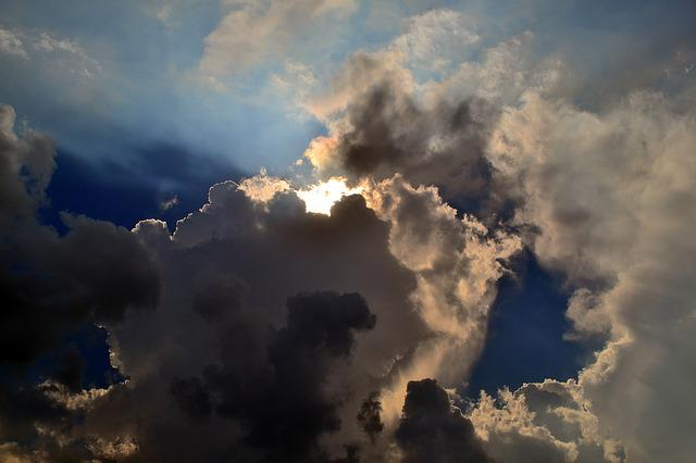 Sky, Light, Cloudy, Miracle, Dramatic, Beauty