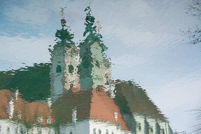 Mirroring, Water, Church, Mirror Image, Reflection