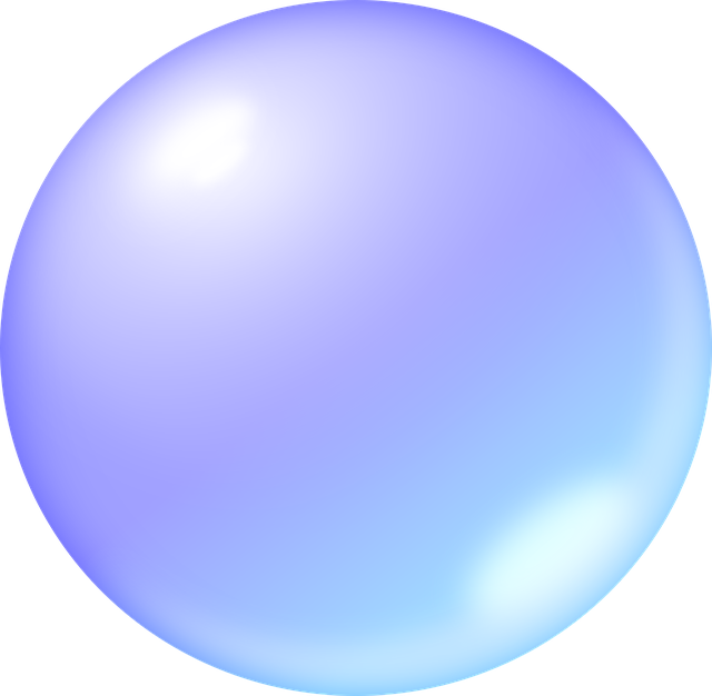 Bubble, Soap Bubble, Ball, Round, Blue, Mirror