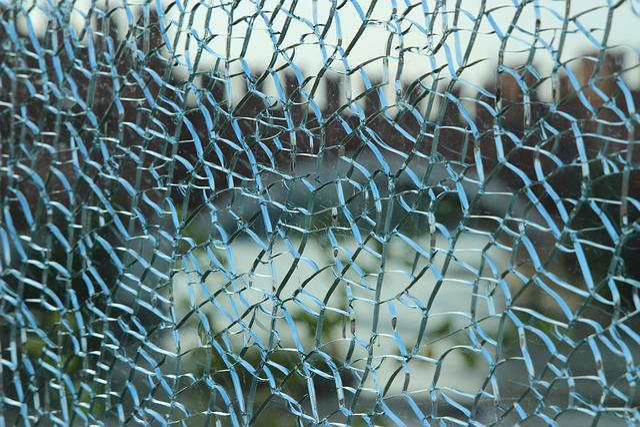 Smithereens, Glass, Mirror, Pieces, Broken, Transparent