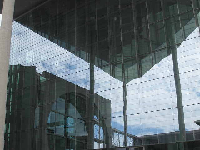 Federal Chancellery, Berlin, Government, Mirroring