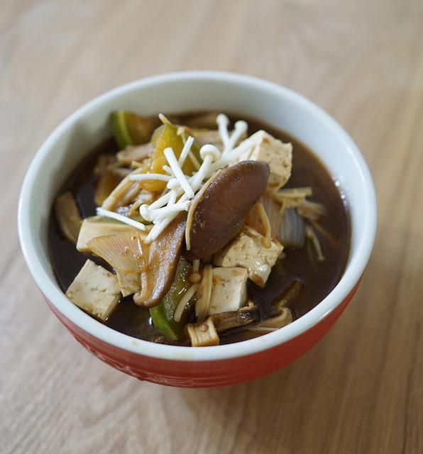Miso Soup, Korean Food, Republic Of Korea, Health Food