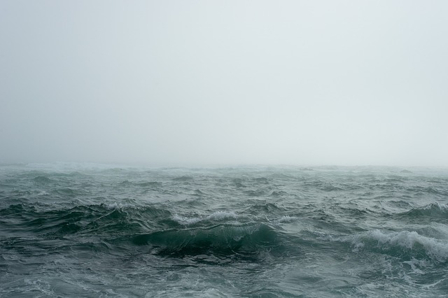 Sea, Fog, Ocean, Waves, Ocean Waves, Mist, Nature