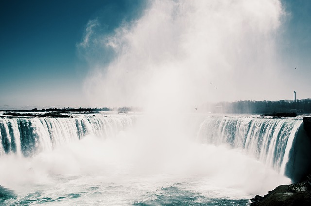 Mist, Nature, Niagara Falls, Water, Waterfalls