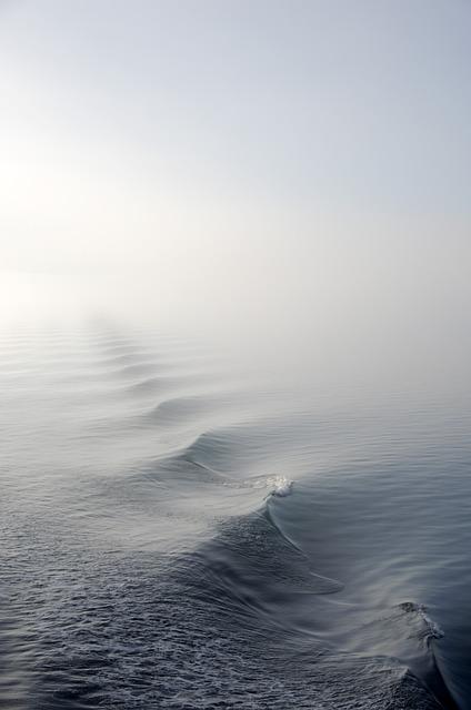 Fog, Mist, Nature, Ocean, Sea, Water, Wave