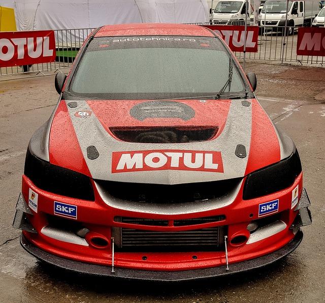 Racing Car, Mitsubishi, Tuning, Expo, Car, Speed