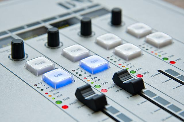 Radio, The Console, Mixer, Sound, Music, Dj, Mix