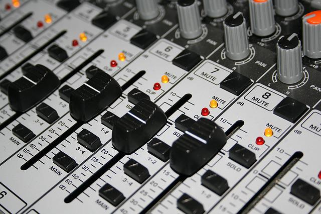 Technology, Mixer, Sound