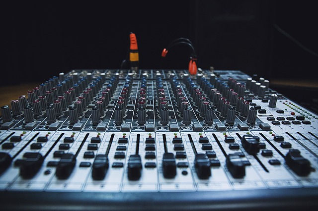 Technology, Music, Sound, Audio, Mixing Panel, Studio