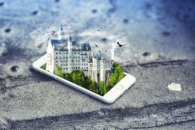 Smartphone, Castle, Iphone, Mobile, Virtual Reality