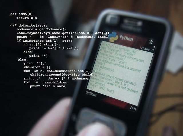 Mobile Phone, Python, Programming Language