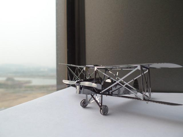 Model Airplane, Miniatures, Toy