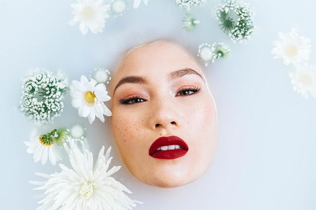 Woman, Beauty, Face, Girl, Model, Milk Bath, Skincare