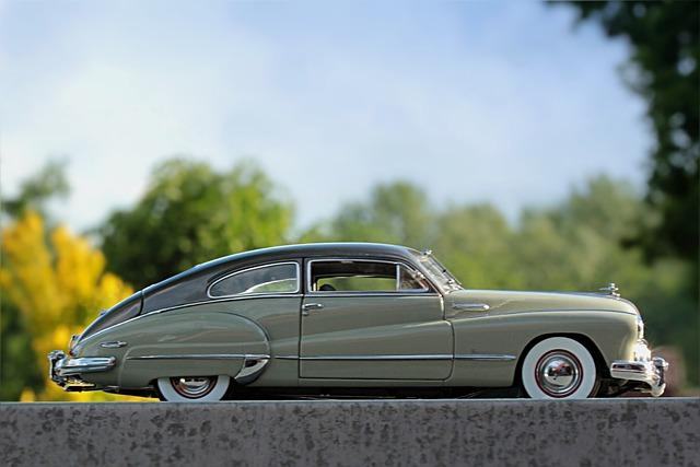 Auto, Oldtimer, Buick, Model Car, Photo Montage