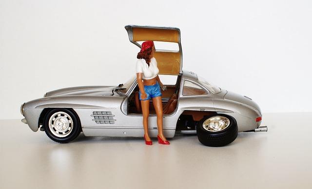 Model Car, Car Breakdown, Achsbruch, Breakdown