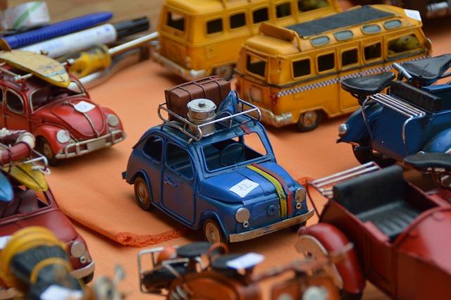 Model Car, Auto, Miniature, Flea Market, Collector