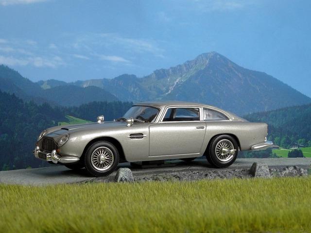 Aston Martin, Db5, James Bond, Goldfinger, Model Car