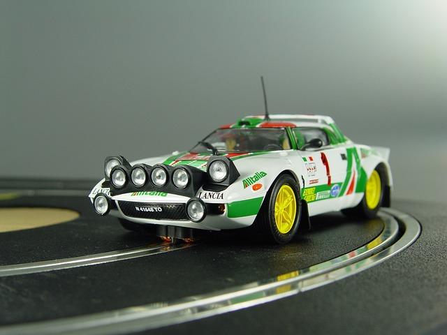 Slot Car, Model Car, Lancia Delta