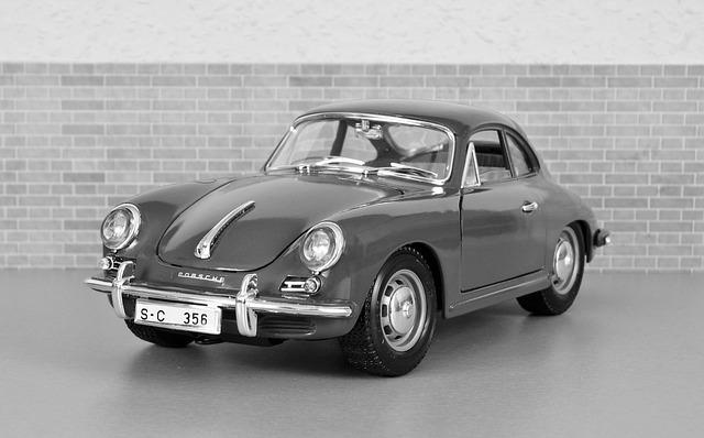Model Car, Porsche, Porsche 356, Sporty, Red, Vehicle